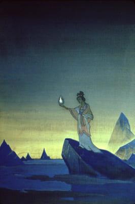 Картина Н.К. Рериха «Агни Йога»