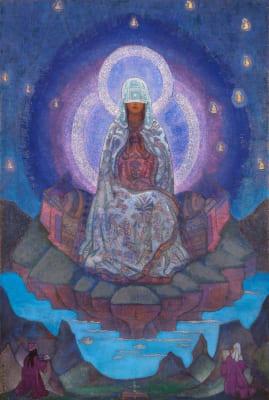 Картина Н.К. Рериха «Матерь Мира»